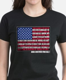 PLEDGE OF ALLEGIANCE FLAG Tee
