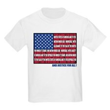 PLEDGE OF ALLEGIANCE FLAG T-Shirt