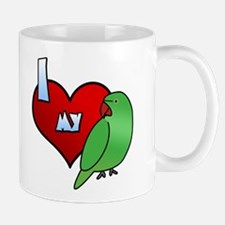 Love Hen Indian Ringneck Mug