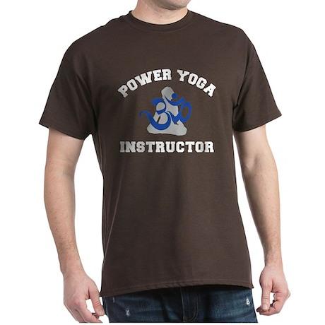 Power Yoga Instructor Dark T-Shirt