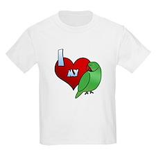 Love Indian Ringneck Parakeet T-Shirt