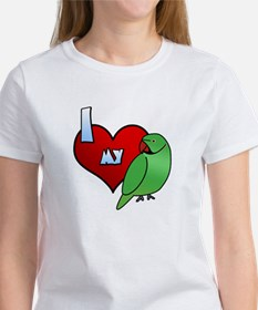Love Indian Ringneck Parakeet Tee