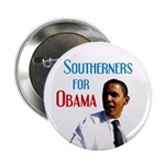 Southerners for Obama Political Button