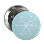 "Contemporary Snowflake 2.25"" Button (10 pack)"