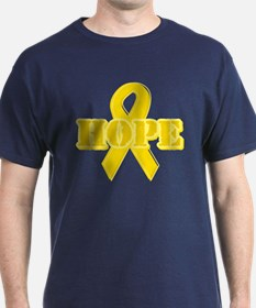 Hope Yellow ribbon T-Shirt