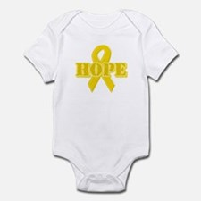 Hope Yellow ribbon Infant Bodysuit