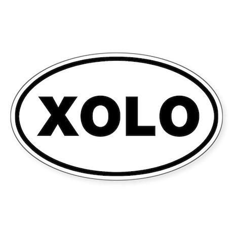 XOLO Oval Sticker