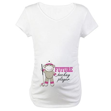 Future Hockey Player Maternity T-Shirt