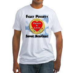 Fight Poverty Support MicroCr Shirt