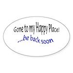 sayings Oval Sticker (50 pk)