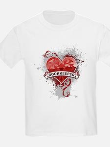 Heart Bookkeeper T-Shirt