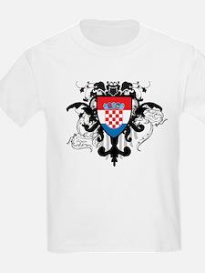 Stylish Croatia T-Shirt