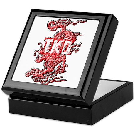 Taekwondo Dragon Keepsake Box