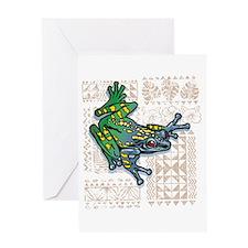 AMAZON JEWEL Greeting Card