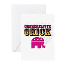 Conservative Chick Greeting Cards (Pk of 10)