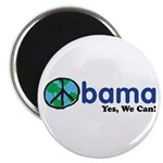 "Obama Yes We Can 2.25"" Magnet (100 pack)"