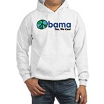 Obama Yes We Can Hooded Sweatshirt