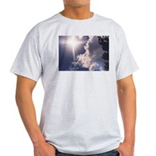 Cross in the Clouds Ash Grey T-Shirt