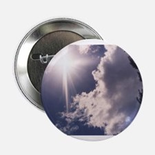 Cross in the Clouds Button