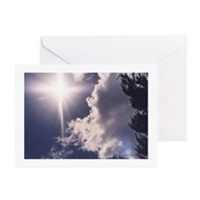 Cross in the Clouds Greeting Cards (Pk of 10)