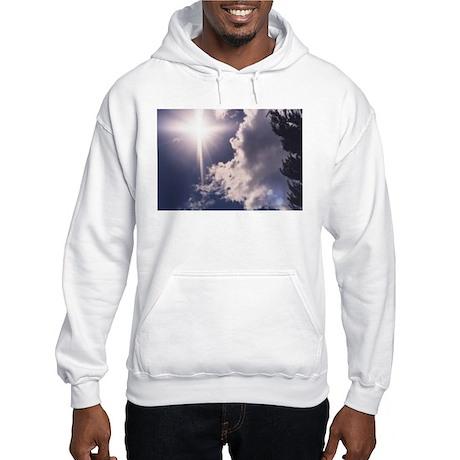 Cross in the Clouds Hooded Sweatshirt