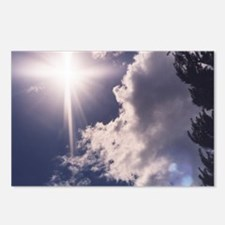 Cross in the Clouds Postcards (Package of 8)