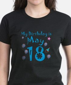 May 18th Birthday Tee