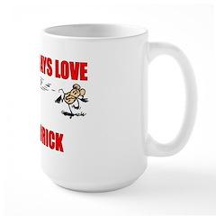 """Krazy Kat """"Nothing Says Love"""" Large Mug"""