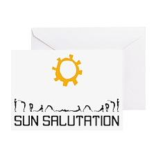 Sun Salutation Greeting Card