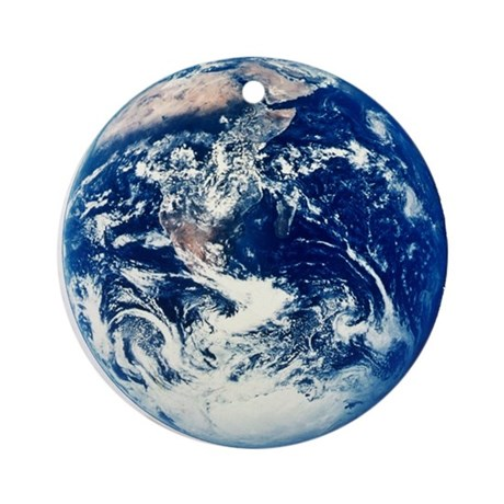 Earth Ornament (Round)