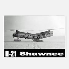 H-21 Workhorse / Shawnee Postcards (Package of 8)