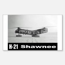 H-21 Workhorse / Shawnee Rectangle Decal