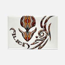 Alienwear Tribal 16B Rectangle Magnet