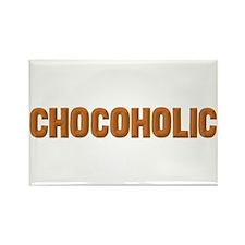 Chocoholic Rectangle Magnet