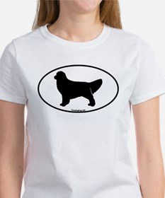 Golden Retriever Oval Tee