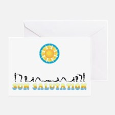 Sun Salutation Greeting Card
