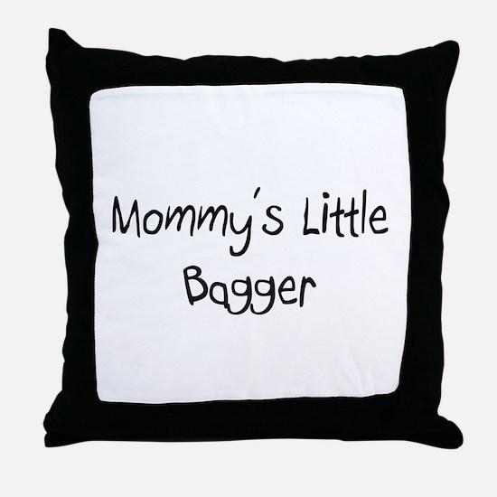 Mommy's Little Bagger Throw Pillow
