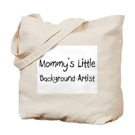 Mommy's Little Background Artist Tote Bag