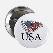 """American Flag 2.25"""" Button (100 pack)"""