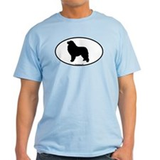 Great Pyrenees Euro Oval T-Shirt