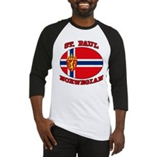 St. Paul Norwegian Baseball Jersey