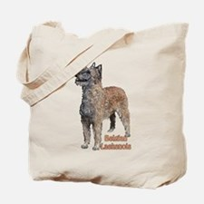Belgian Laekenois portrait Tote Bag