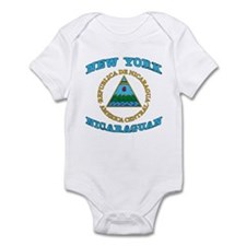 Nicaraguan New York Infant Bodysuit