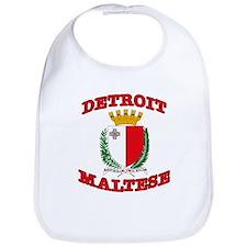 Detroit Maltese Bib