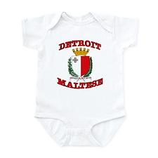 Detroit Maltese Infant Bodysuit