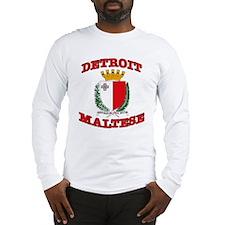 Detroit Maltese Long Sleeve T-Shirt