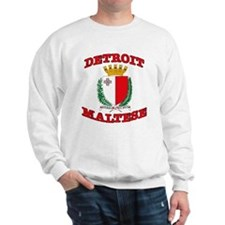 Detroit Maltese Sweatshirt