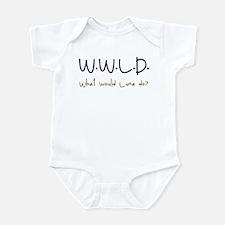 What would Luna do? Infant Bodysuit