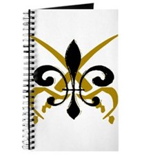 Fleur De Lis Pirate Journal