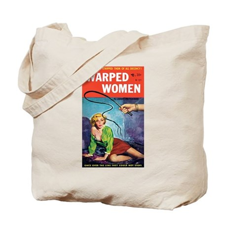 """Tote Bag - """"Warped Women"""""""